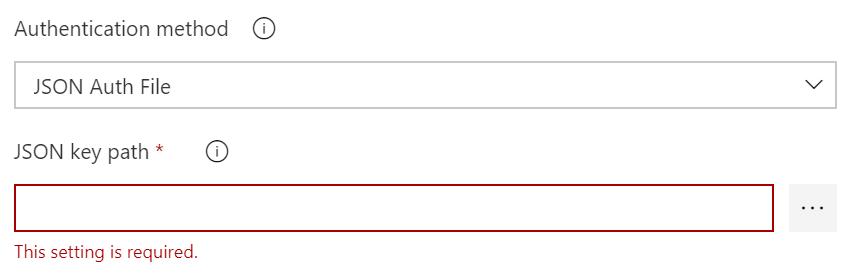 JSON Auth File